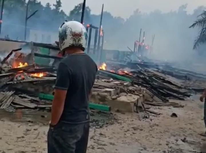 Pondok Pesantren di Lampung Timur Terbakar, 16 Asrama 1 Motor Ludes